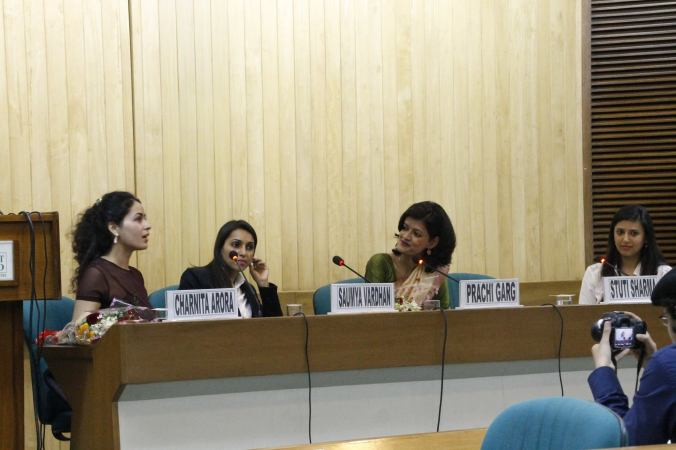 Moderating a session